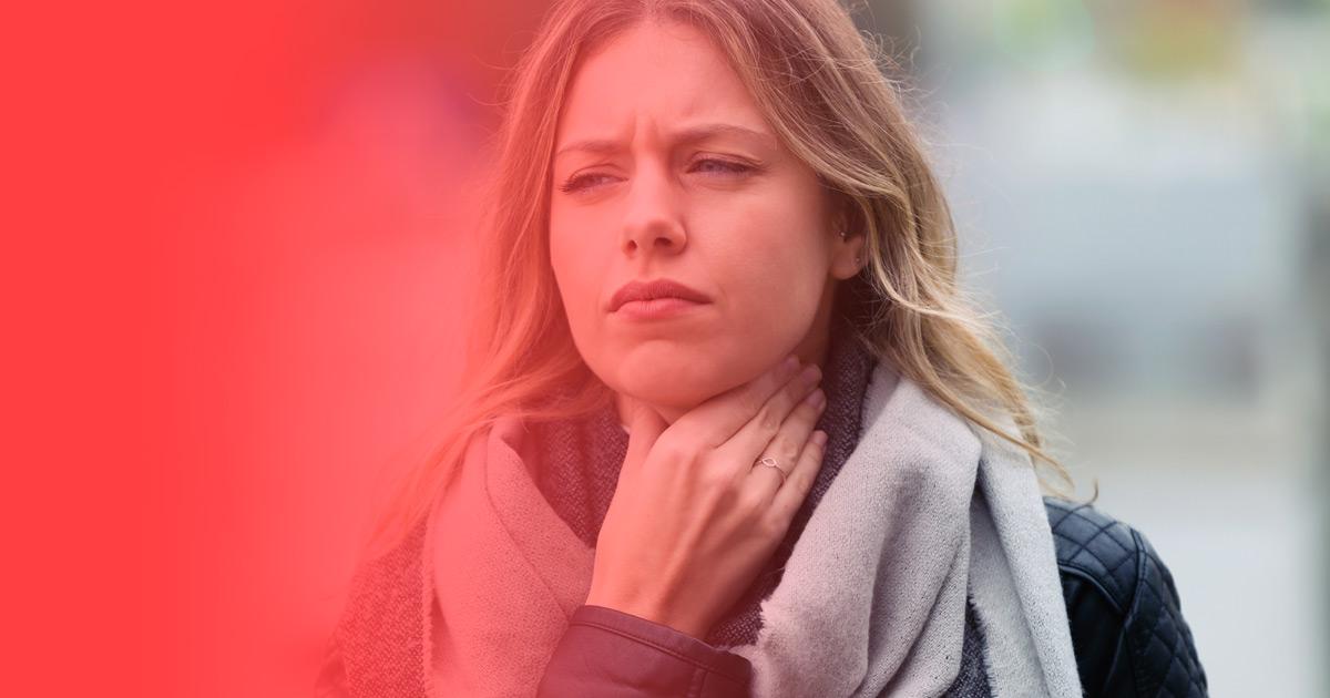 Dolor de GARGANTA, causas emocionales y como curarlo