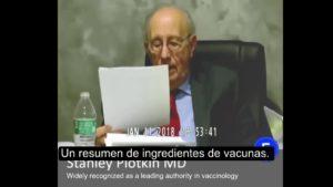 Dr. Stanley Plotkin admite que usan partes de fetos abortados en las vacunas